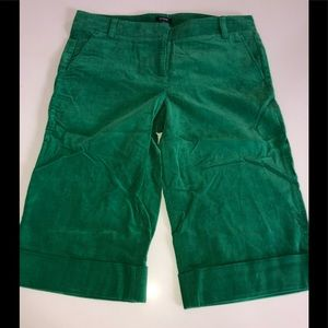 J Crew knickers crop pants cords 4 st. paddy city